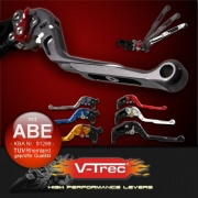 Motorrad Bremshebel /& Kupplungshebel Set SW//TI V3 ABE f/ür Honda CB 1000 R//RR Fireblade