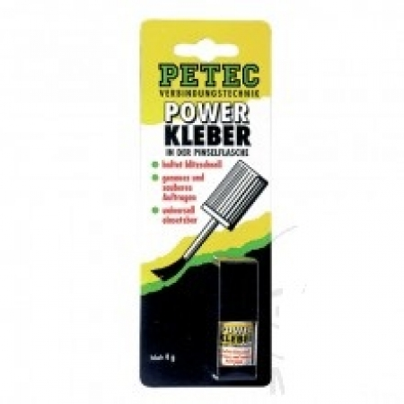 Power Kleber 4 g Petec SB-Karte PINSELFL