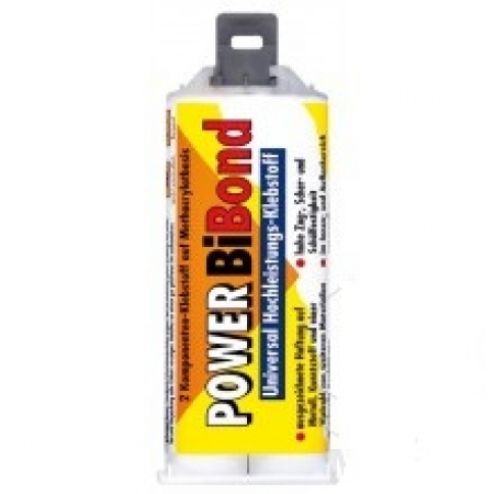 Kleber Power Bibond 50 ml 3 mineralisch Petec Pistole