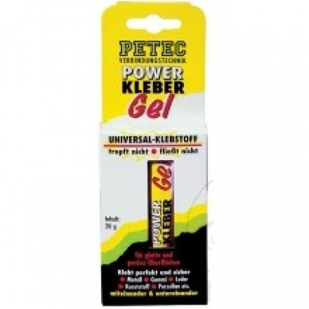 Power Kleber Gel 20G Petec SB-Karte