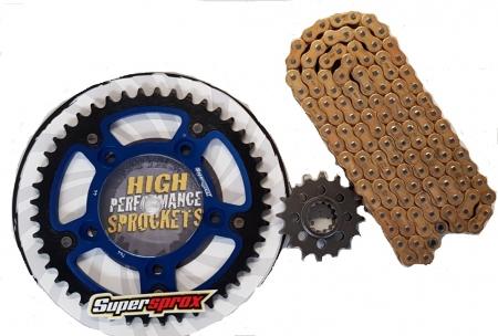 Front /& Rear Sprocket Kit for HONDA TRX200 FourTrax 1990-1991 520 RK-M Chain