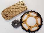 Kit Stealth (gold) TRIUMPH Speedmaster 800 03-04
